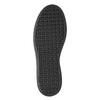 Czarne skórzane trampki na rzepy bata, czarny, 526-6646 - 17
