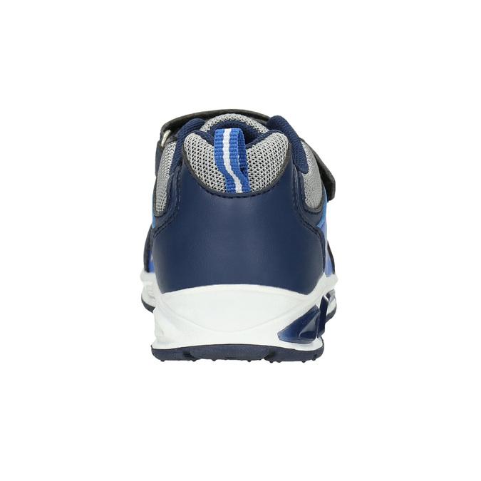 Trampki chłopięce znadrukiem mini-b, niebieski, 211-9183 - 17