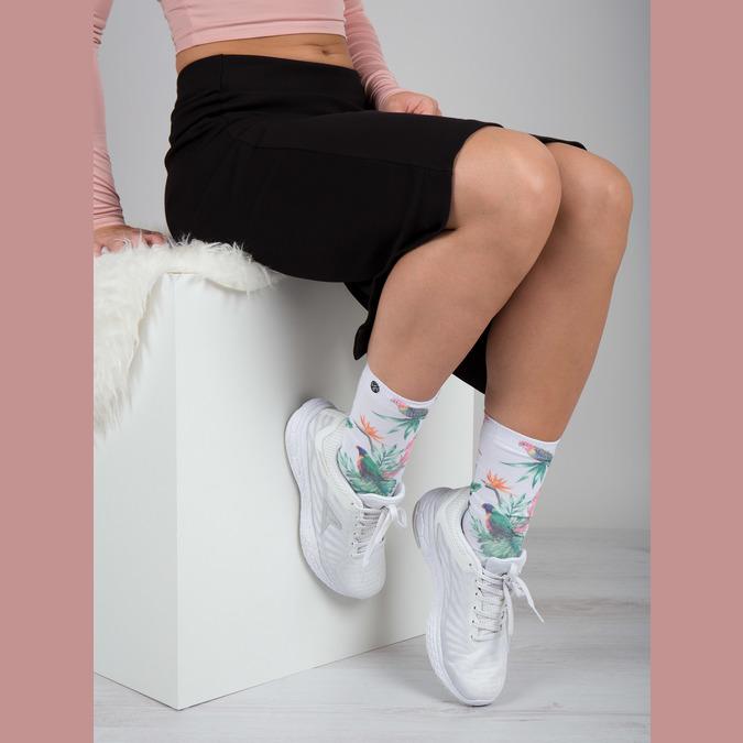 Sportowe trampki damskie power, biały, 509-1220 - 19