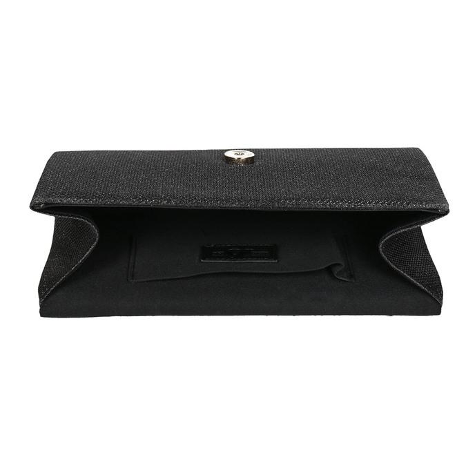 Czarna kopertówka damska bata, czarny, 969-6661 - 15