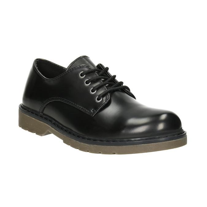 Czarne półbuty dziecięce mini-b, czarny, 311-6186 - 13