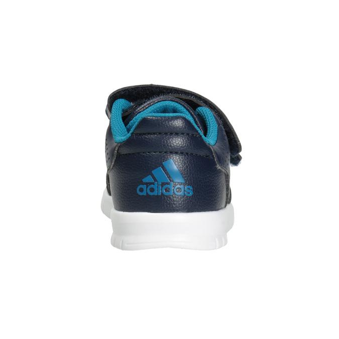 Trampki dziecięce na rzepy adidas, niebieski, 101-9161 - 16
