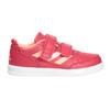 Trampki dziecięce na rzepy adidas, różowy, 101-5161 - 26