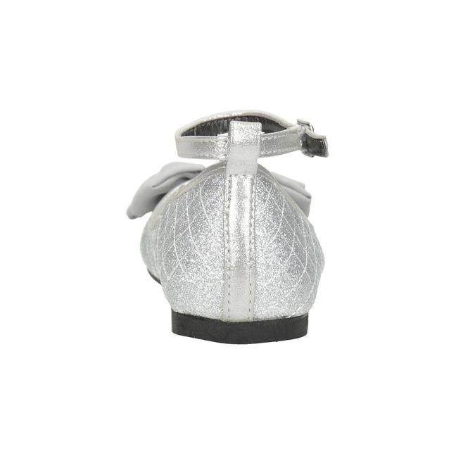 Srebrne baleriny dziewczęce mini-b, srebrny, 329-1286 - 16
