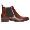 Skórzane buty damskie typu chelsea bata, brązowy, 594-4635 - 15