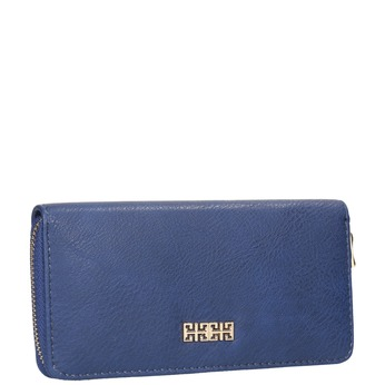Niebieski portfel damski bata, niebieski, 941-9180 - 13