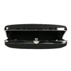 Sztywna kopertówka damska bata, czarny, 969-6660 - 15
