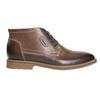 Skórzane buty męskie za kostkę bata, brązowy, 826-4614 - 15