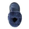 Obuwie dziewczęce zfuterkiem bubblegummer, niebieski, 121-9621 - 19
