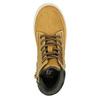 Zimowe obuwie dziecięce na kontrastowej podeszwie mini-b, brązowy, 311-8611 - 19