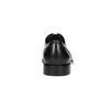 Czarne skórzane półbuty typu angielki bata, czarny, 824-6405 - 17
