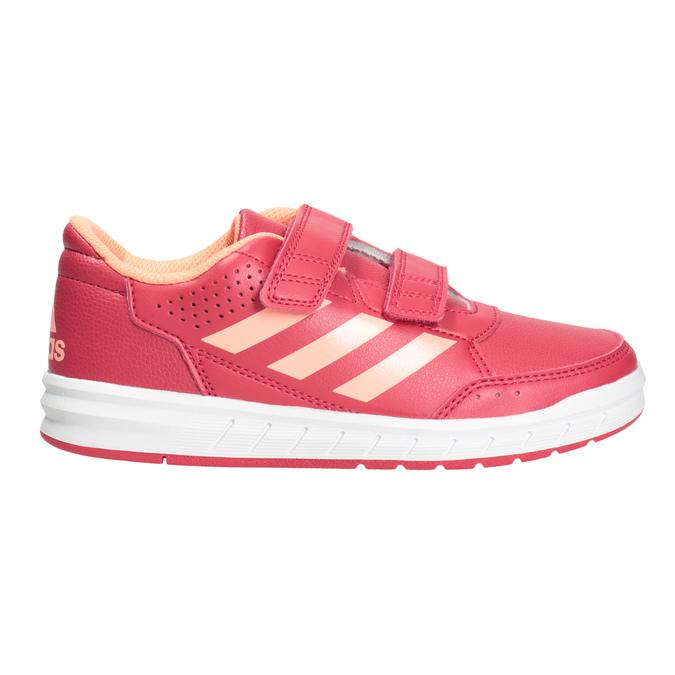 Różowe trampki dziecięce adidas, różowy, 301-5197 - 26
