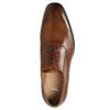 Skórzane półbuty typu oksfordy ze zdobieniami bata, brązowy, 826-3690 - 26