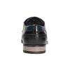 Nieformalne skórzane półbuty bugatti, czarny, 824-6007 - 16