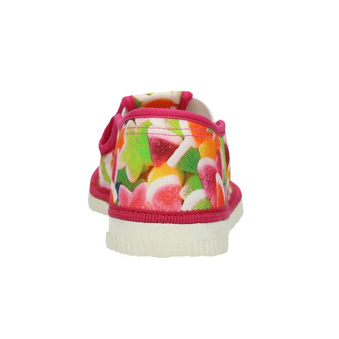 Kapcie dziecięce wdeseń bata, różowy, 379-5125 - 16