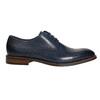 Niebieskie nieformalne półbuty ze skóry bata, niebieski, 826-9681 - 15