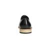 Półbuty typu oksfordy, wykonane wcałości ze skóry bata, czarny, 824-6414 - 17