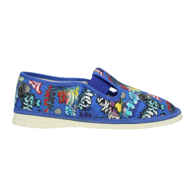 Niebieskie kapcie dziecięce bata, niebieski, 379-9124 - 26