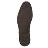 Niebieskie nieformalne półbuty ze skóry bata, niebieski, 826-9681 - 19