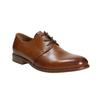 Skórzane półbuty wyjściowe bata, brązowy, 826-3680 - 13