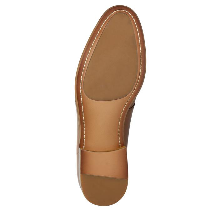 Skórzane półbuty wyjściowe bata, brązowy, 826-3680 - 19
