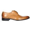 Skórzane półbuty męskie zefektem ombré bata, brązowy, 824-3233 - 15