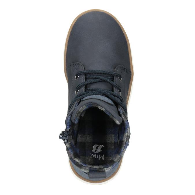 Dziecięce buty za kostkę mini-b, niebieski, 291-9172 - 15