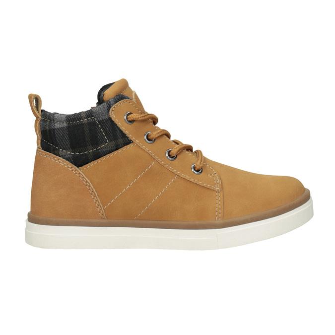 Dziecięce buty za kostkę mini-b, brązowy, 291-8172 - 26