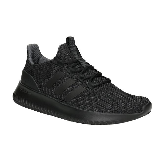 Czarne trampki męskie adidas, czarny, 809-6204 - 13