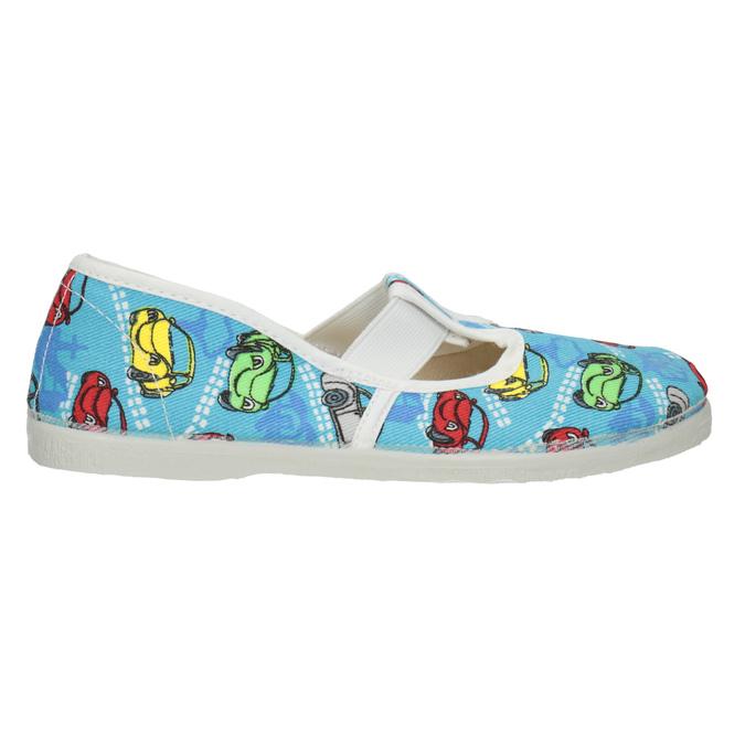 Domowe buty dziecięce w auta bata, niebieski, 279-9105 - 26