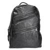 Plecak zzamkami błyskawicznymi bata, czarny, 961-6516 - 26