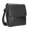 Skórzana torba męska typu crossbody bugatti-bags, czarny, 964-6027 - 13