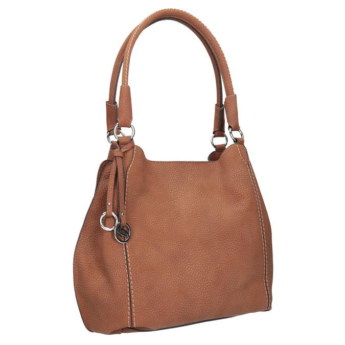 Brązowa torebka damska gabor-bags, brązowy, 961-3049 - 13