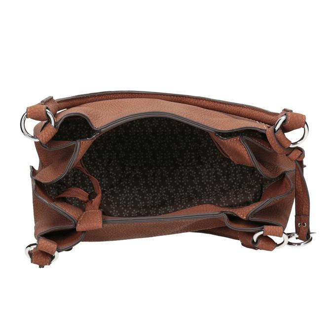 Brązowa torebka damska gabor-bags, brązowy, 961-3049 - 15
