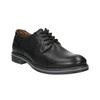 Skórzane półbuty męskie typu angielki bata, czarny, 824-6926 - 13