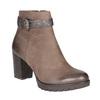 Botki damskie zklamrami bata, brązowy, 796-4644 - 13