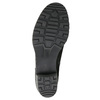 Skórzane botki zklamrami bata, czarny, 696-6621 - 26