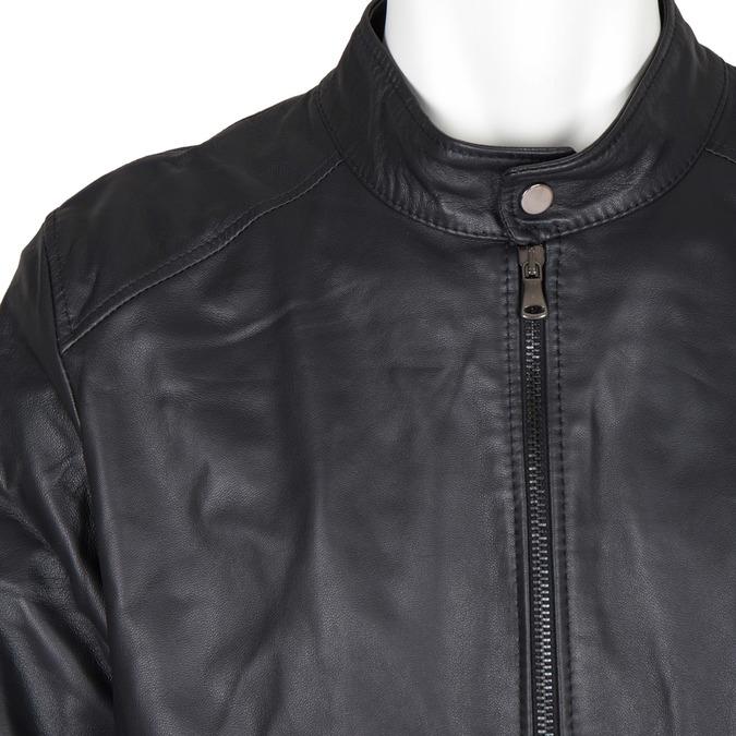 Skórzana kurtka męska bata, czarny, 974-6154 - 16