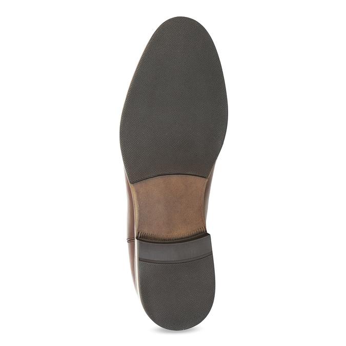 Brązowe skórzane obuwie damskie typu chelsea bata, brązowy, 594-4636 - 18