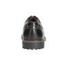 Skórzane półbuty męskie bata, czarny, 826-6619 - 17