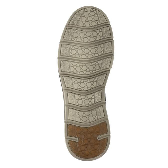 Skórzane buty męskie za kostkę weinbrenner, szary, 846-2656 - 17