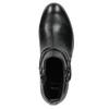 Botki damskie zćwiekami bata, czarny, 591-6620 - 26