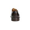 Brązowe nieformalne półbuty ze skóry bata, brązowy, 826-4914 - 17