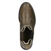 Skórzane botki damskie typu chelsea bata, brązowy, 596-7680 - 15