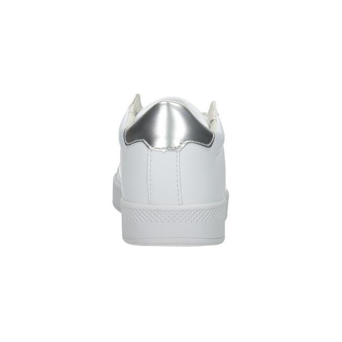 Damskie białe trampki, biały, 501-1171 - 16