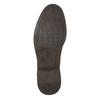 Skórzane półbuty męskie zprzeszyciami bata, brązowy, 826-4610 - 19