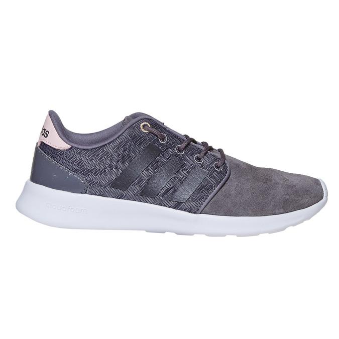 Skórzane trampki damskie adidas, szary, 503-2111 - 15