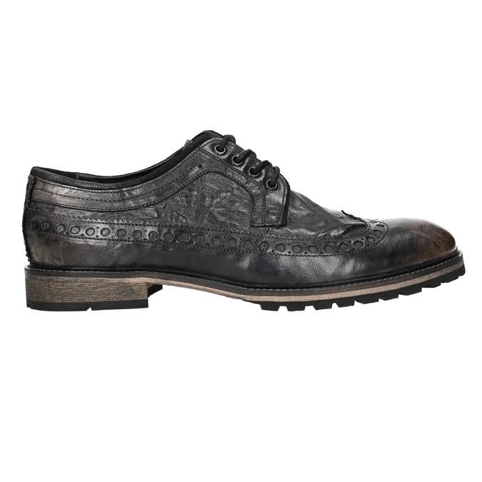 Nieformalne półbuty męskie bata, brązowy, 826-4916 - 15