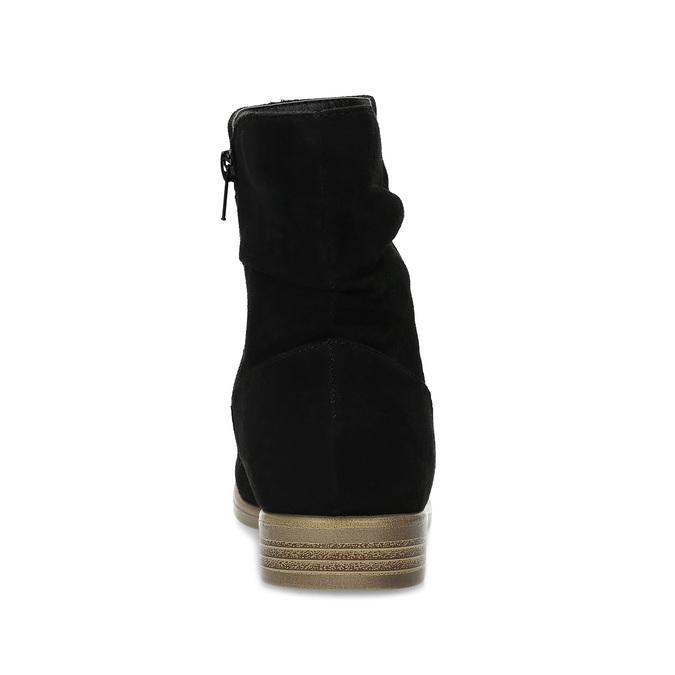 Botki damskie bata, czarny, 599-6614 - 15