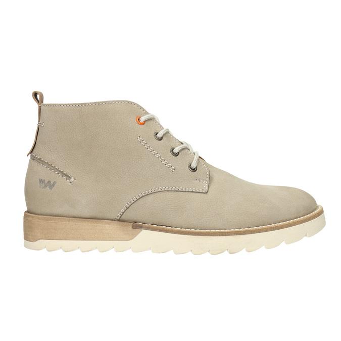 Męskie buty za kostkę weinbrenner, beżowy, 846-8701 - 15